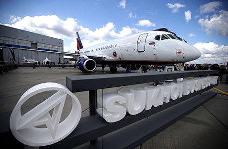Бизнес-версия самолета SSJ-100 Sukhoi Business Jet.