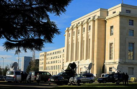Штаб-квартира ООН в Женеве.