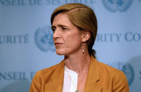 Бывший посол ООН от США Саманта Пауэр.