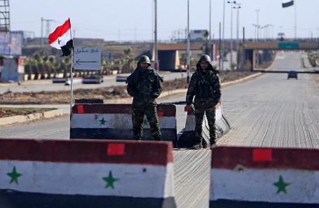 Сирийские солдаты.