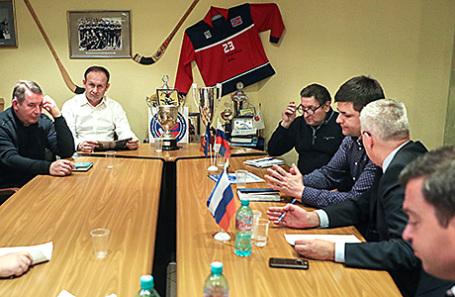 Расширенное заседание Контрольно-дисциплинарного комитета Федерации хоккея с мячом России 28 февраля 2017.