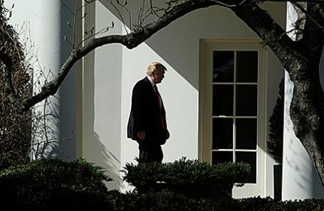 Президент США Дональд Трамп в Белом доме.