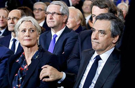 Пенелопа и Франсуа Фийон.