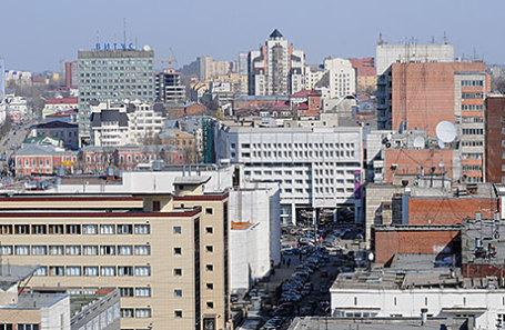 Пермь. Вид на город.