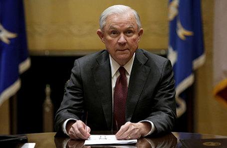 Генпрокурор США Джефа Сешнс.