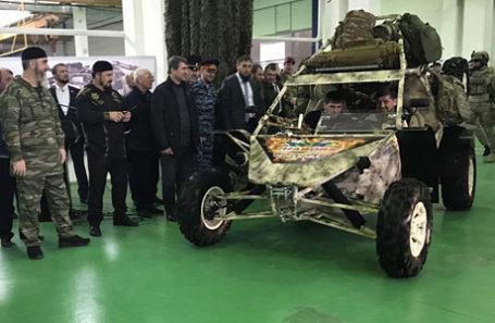 Глава Чечни Рамзан Кадыров принял участие в запуске серийного производства вездеходов «Чаборз» на автомобильном заводе «Чеченавто».
