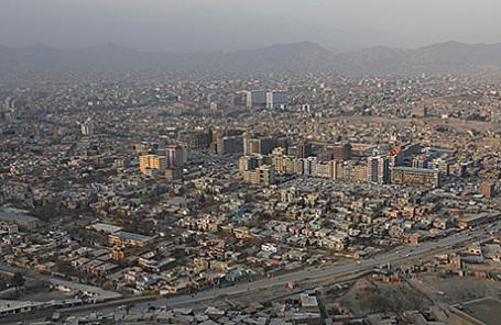 Вид на Кабул, Афганистан.
