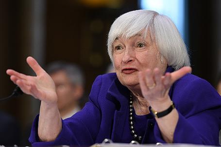 Глава ФРС США Джанет Йеллен выступила в банковском комитете Сената.