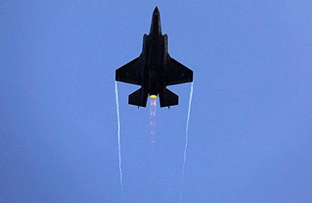 Истребитель F-35 израильских ВВС.