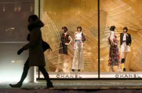 Россия. Москва. У бутика Chanel.