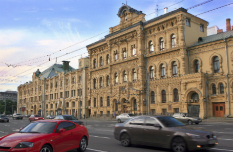 Россия. Москва. Вид на здание Политехнического музея.