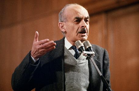 Булат Окуджава, 1993 год.