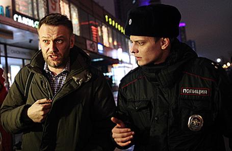 Милиция предостерегла жителей столицы отучастия вмитинге Навального