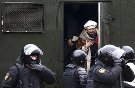 Защитники прав человека узнали озадержании 2-х граждан России намитинге вМинске