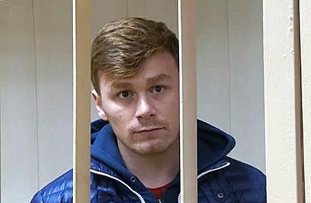 Оперуполномоченный отделения уголовного розыска ОВД «Пресненский» Ильдар Шакиров.