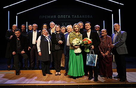ХХII Церемония вручения премии Олега Табакова в Москве, 28 марта 2017.