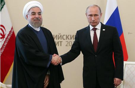 Хасан Роухани и Владимир Путин.