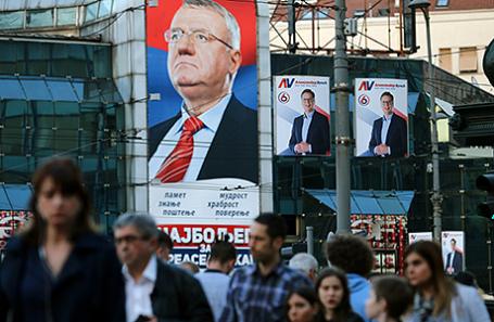 ВСербии 2апреля пройдут президентские выборы