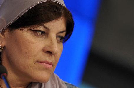 Чеченская правозащитница Хеда Саратова.