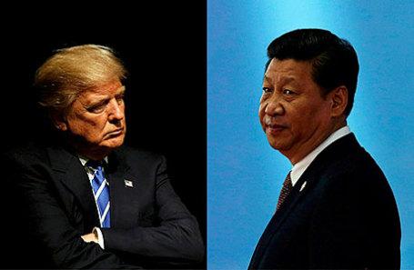 Дональд Трамп впервые и Си Цзиньпин.