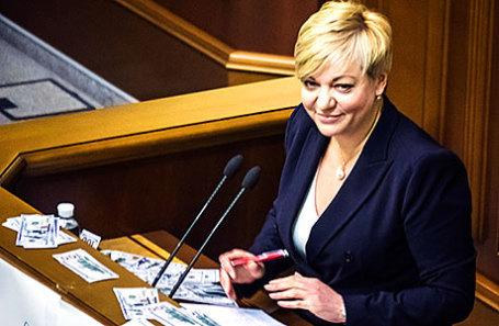 Глава Нацбанка Украины Валерия Гонтарева.