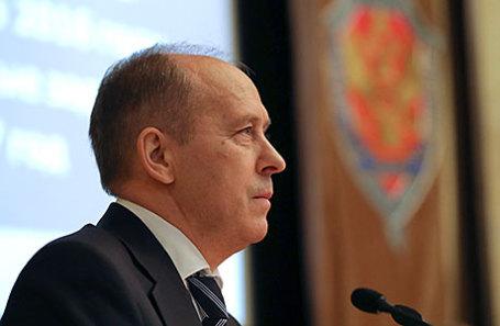 Директор Федеральной службы безопасности (ФСБ) РФ Александр Бортников.