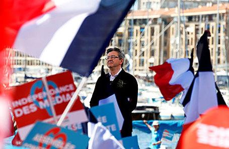 Основатель лево-популистской партии «Непокорная Франция» Жан-Люк Меланшон.