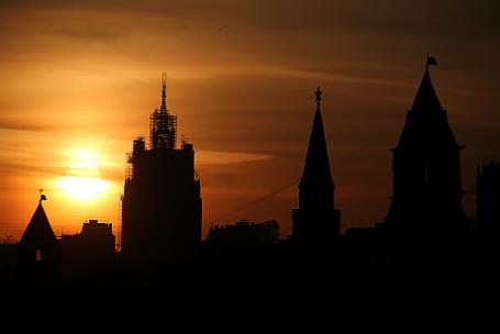 Вид на Кремль.