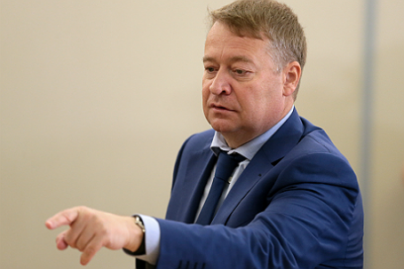Избранный глава Республики Марий Эл Леонид Маркелов.