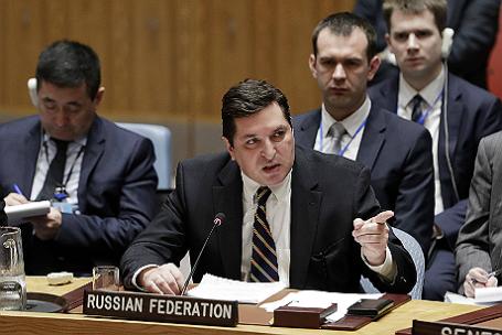 Заседание Совбеза ООН по ситуации в Сирии.