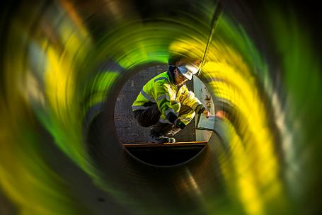 Трубы для газопровода «Северный поток – 2» доставлены в порт Засниц – Мукран на острове Рюген.