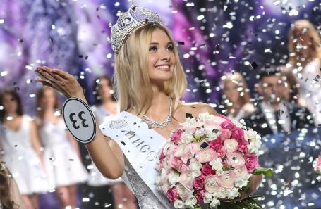 Победительница национального конкурса красоты