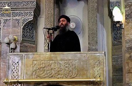 Главарь террористической организации «ИГИЛ» Абу Бакр Аль-Багдади.