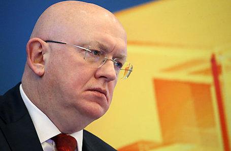 Заместитель министра иностранных дел РФ Василий Небензя.
