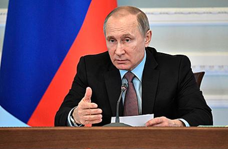 Президент России Владимир Путин.