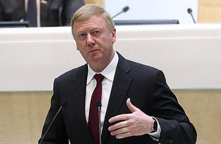 Председатель правления «УК «Роснано» Анатолий Чубайс.