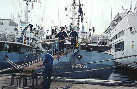 Разведывательный корабль «Лиман».