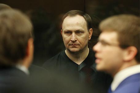 Оглашение приговора бывшему руководителю антикоррупционного управления МВД РФ Денису Сугробову.