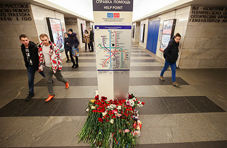 «Фонтанка»: После теракта вПетербурге возбуждено дело вотношении сотрудника метрополитена