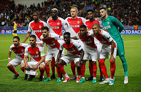 Игроки «Монако».