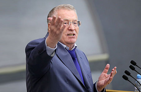 Лидер ЛДПР, член комитета Госдумы РФ по обороне Владимир Жириновский.