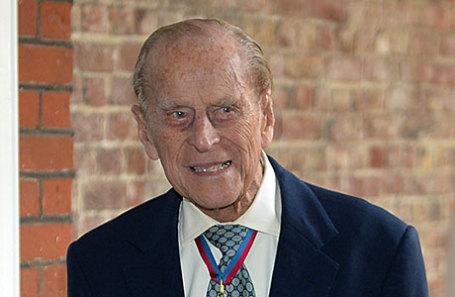 Принц Филипп, герцог Эдинбургский.