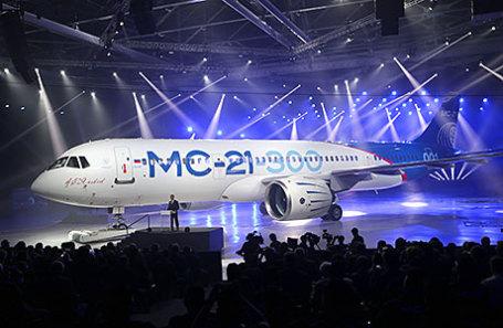 Магистральный самолет МС-21-300.