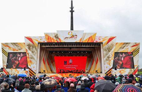 Выступление оркестра Мариинского театра под управлением Валерия Гергиева на Поклонной горе