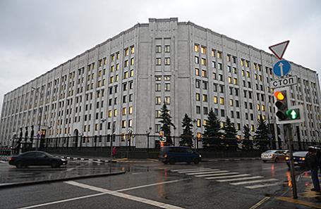 Здание Министерства обороны.