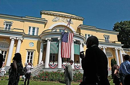 Резиденция посла Соединенных Штатов Америки.