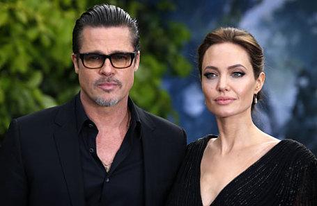 Бред Питт и Анджелина Джоли.