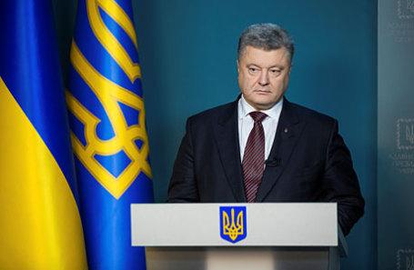 Безвизовый режим сЕС завершил развод Украины сРоссией— Порошенко