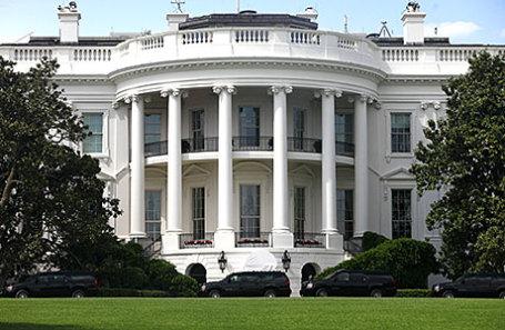 Белый дом - резиденция Президента США.