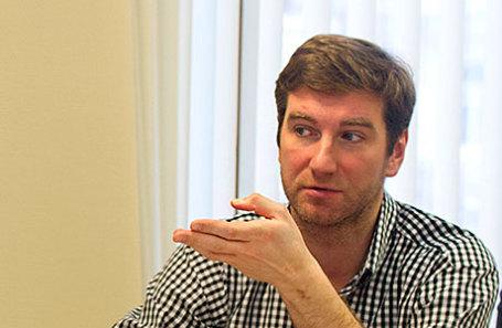 Журналист, директор фонда «Спид.Центр» Антон Красовский.